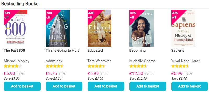 Book Depository Best Sellers