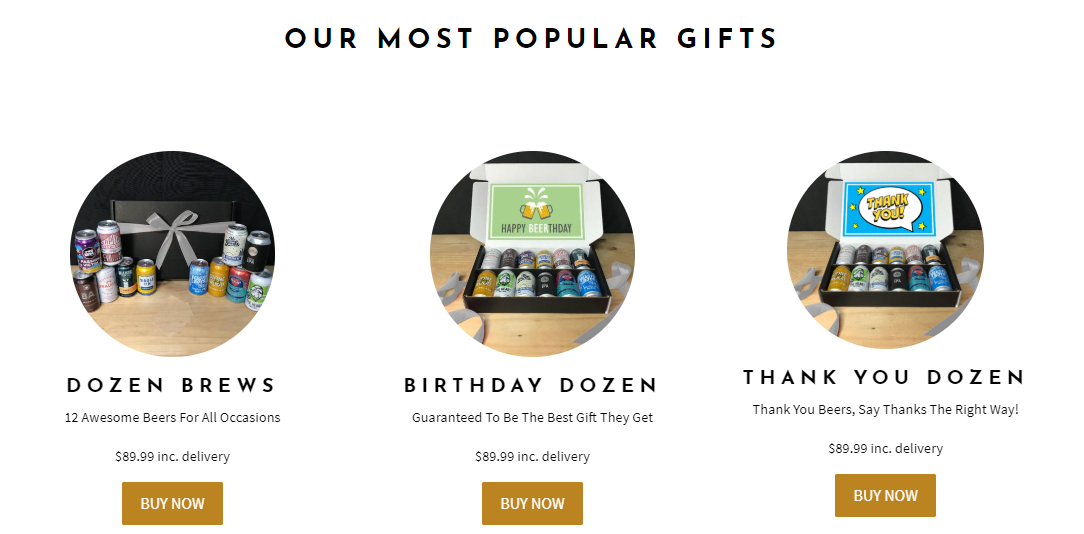 Brewquets Popular Gifts