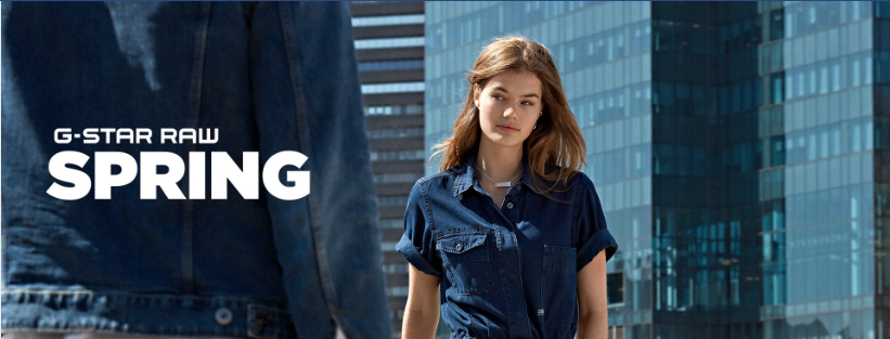 About G-Star RAW Homepage