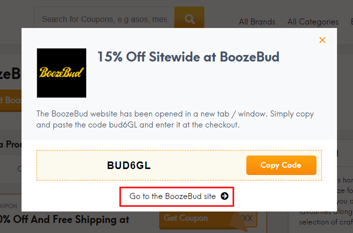 Go to BoozeBud site