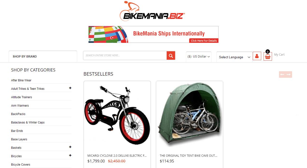 BikeMania about us