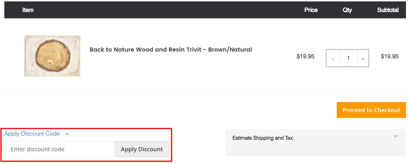 How do I use my April & Oak discount code?