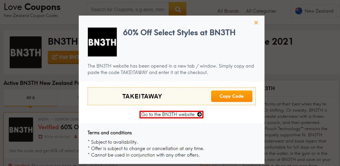 BN3TH Offer NZ
