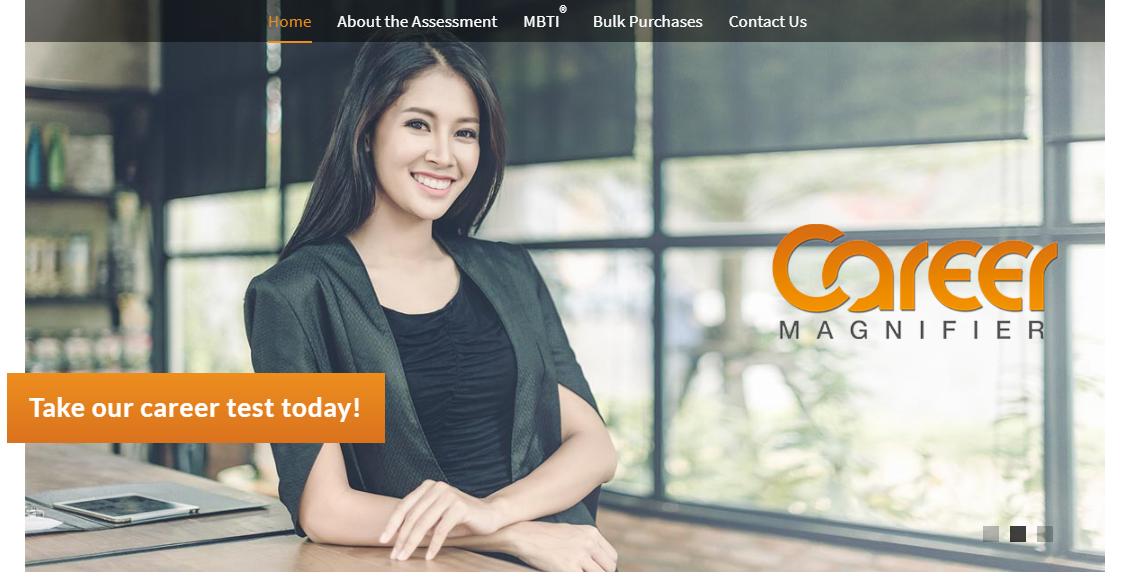 Career Magnifier Homepage
