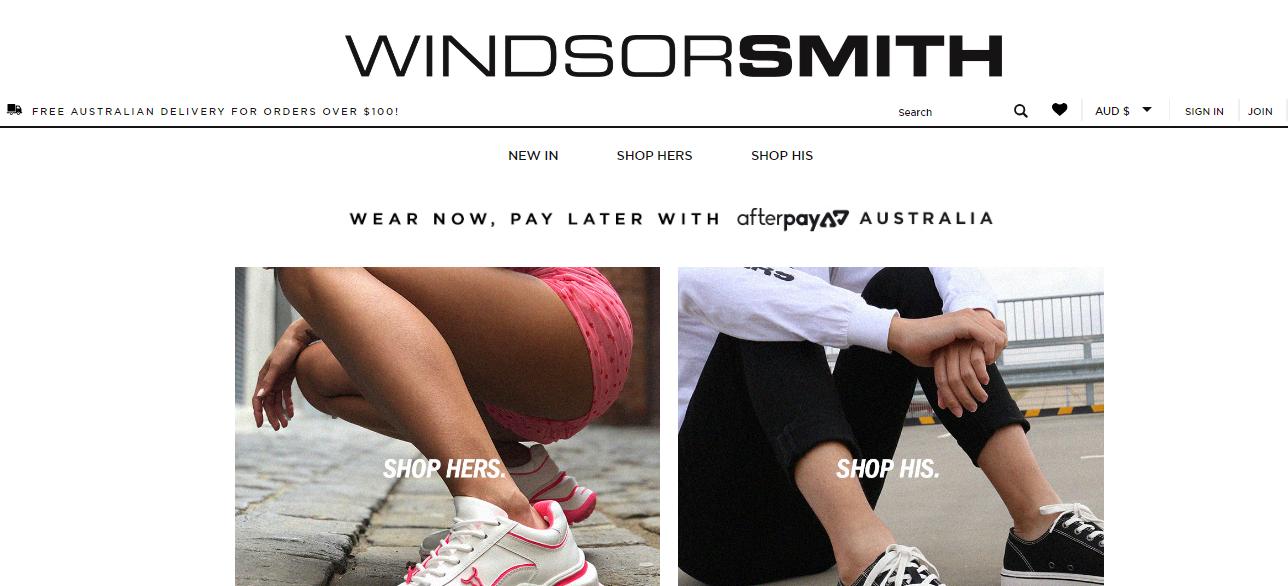 Windsor Smith Homepage