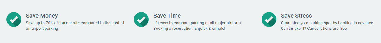 Airport Parking Reservations save