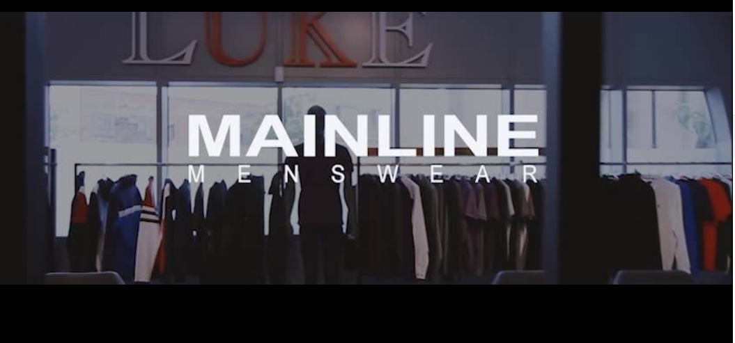About Mainline Menswear homepage
