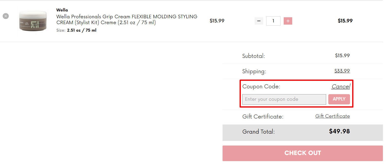 How do I use my SleekShop coupon code?
