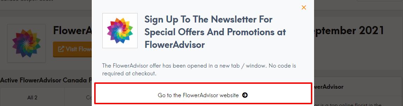 Flower advisor disc ca