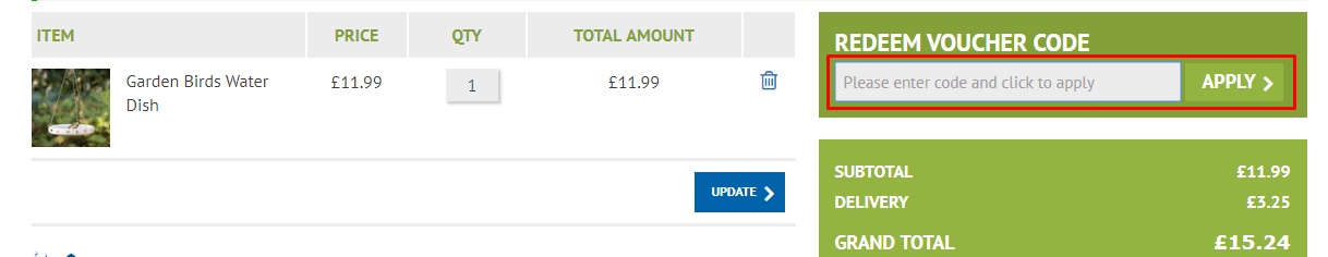 How Do I use my CJ Wildlife discount code?