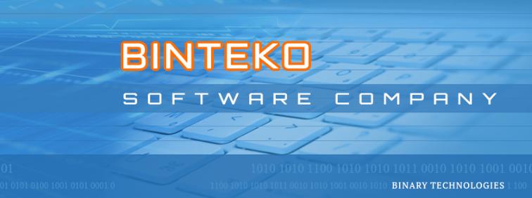 About Binteko Software Homepage