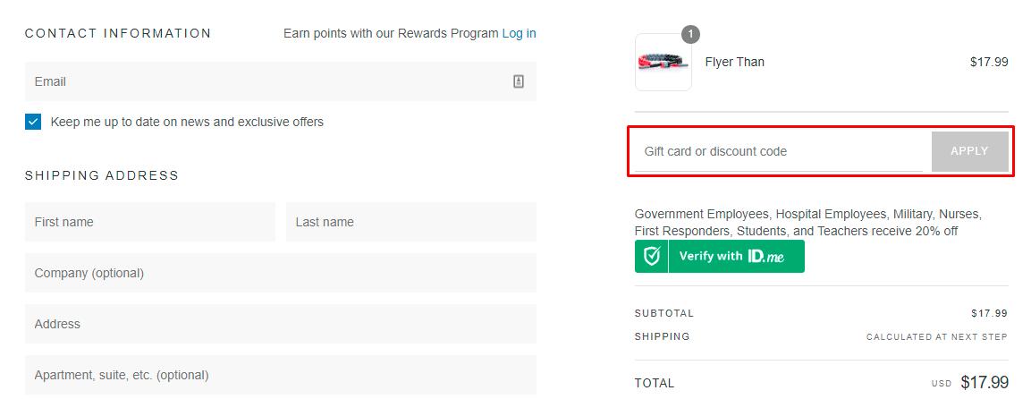 How do I use my Rastaclat discount code?