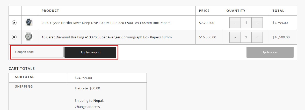 How do I use my TNS Diamonds coupon code?