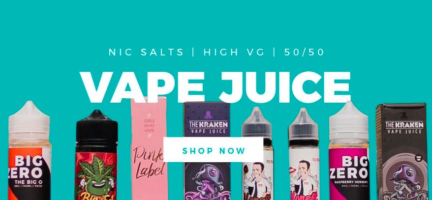 About Vape and Juice Homepage