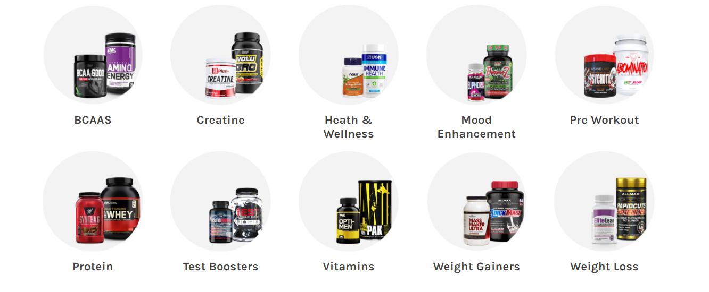 A1 Supplements categories