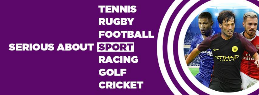 About Betdaq homepage