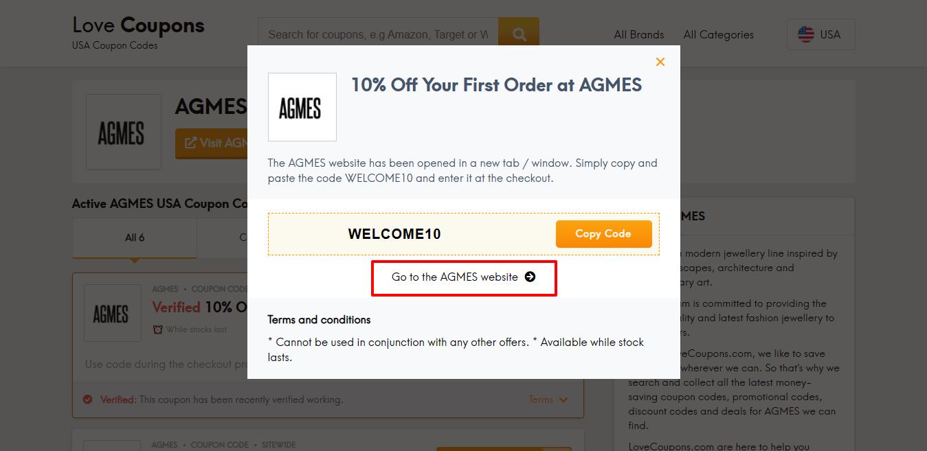 AGMES website