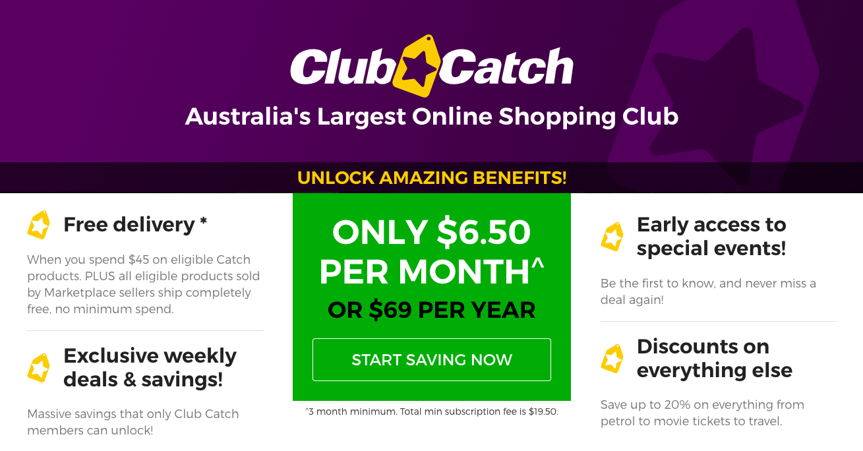 Catch club membership benefits