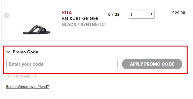How do I use my Kurt Geiger discount code?