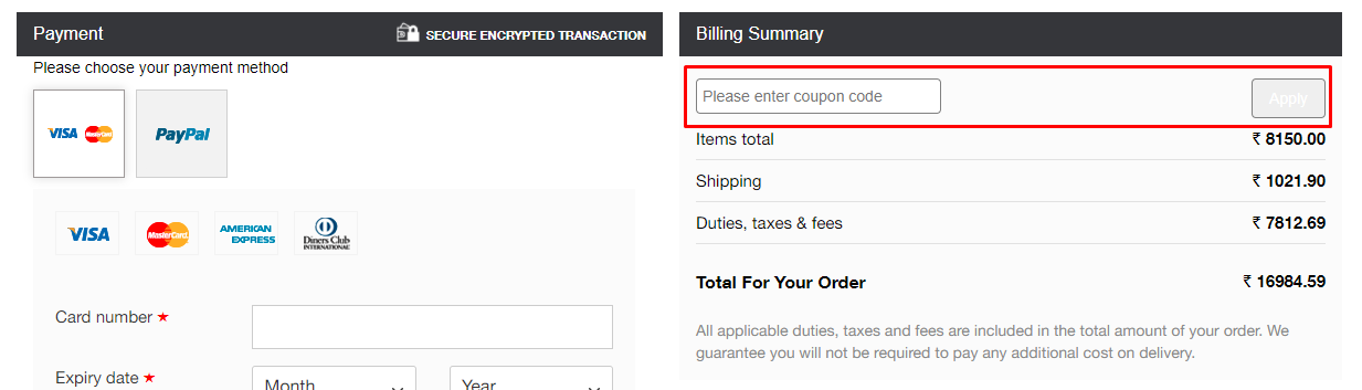 How do I use my Basic Rights coupon code?