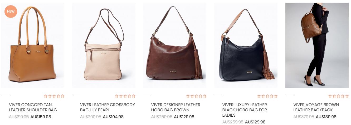 VIVER Leather Best Sellers