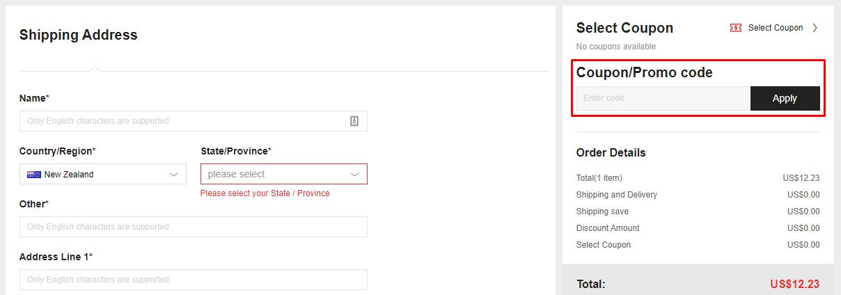 How do I use my JoyBuy promo code?