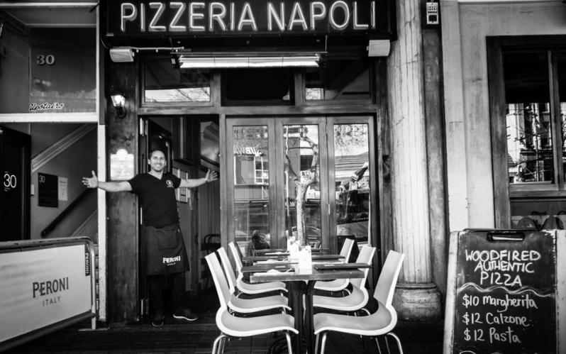 About Pizzeria Napoli Homepage