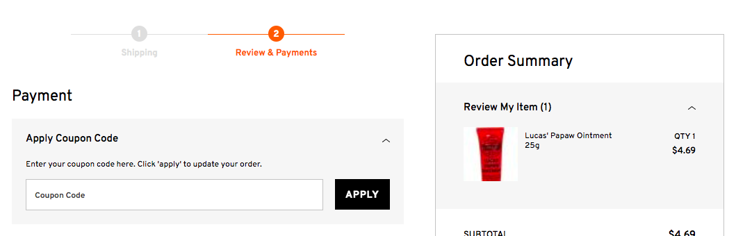 How to use a ChemistDirect.com.au discount coupon code