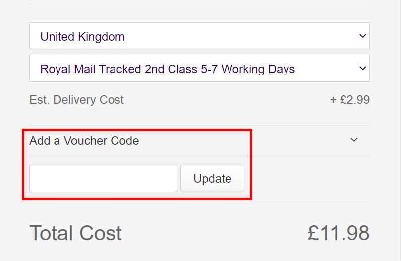 How do I use my Calendar Club voucher code?