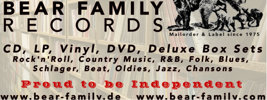 About Bear Family Records homepage