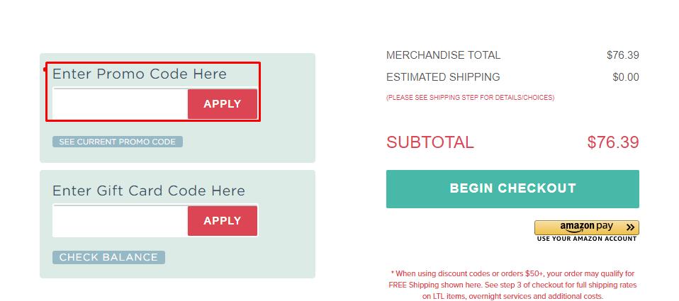 How do I use my JerrysArtarama.com promo code?