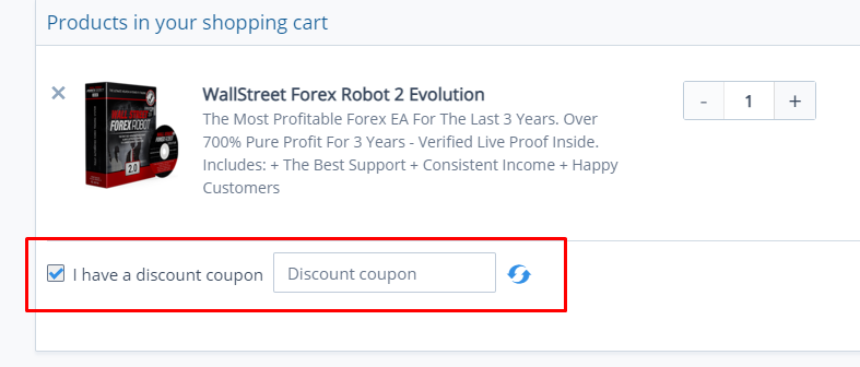 How do I use my FX automater discount code?