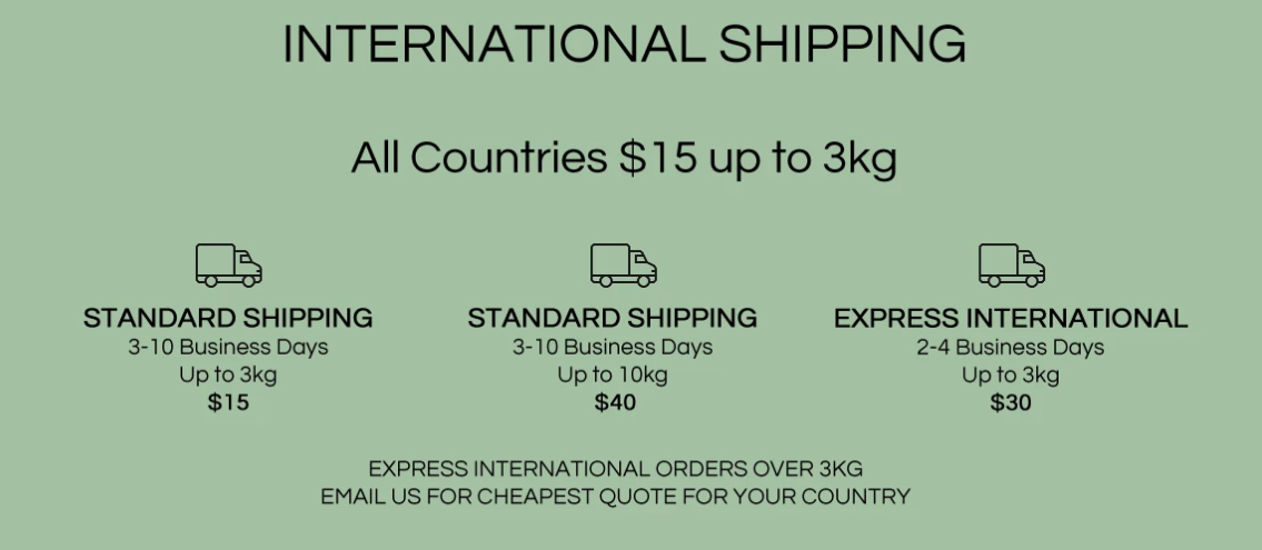 The Freedom State international shipping