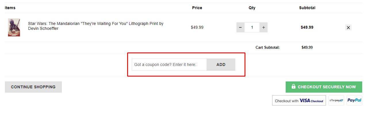 How do I use my Zavvi discount code?