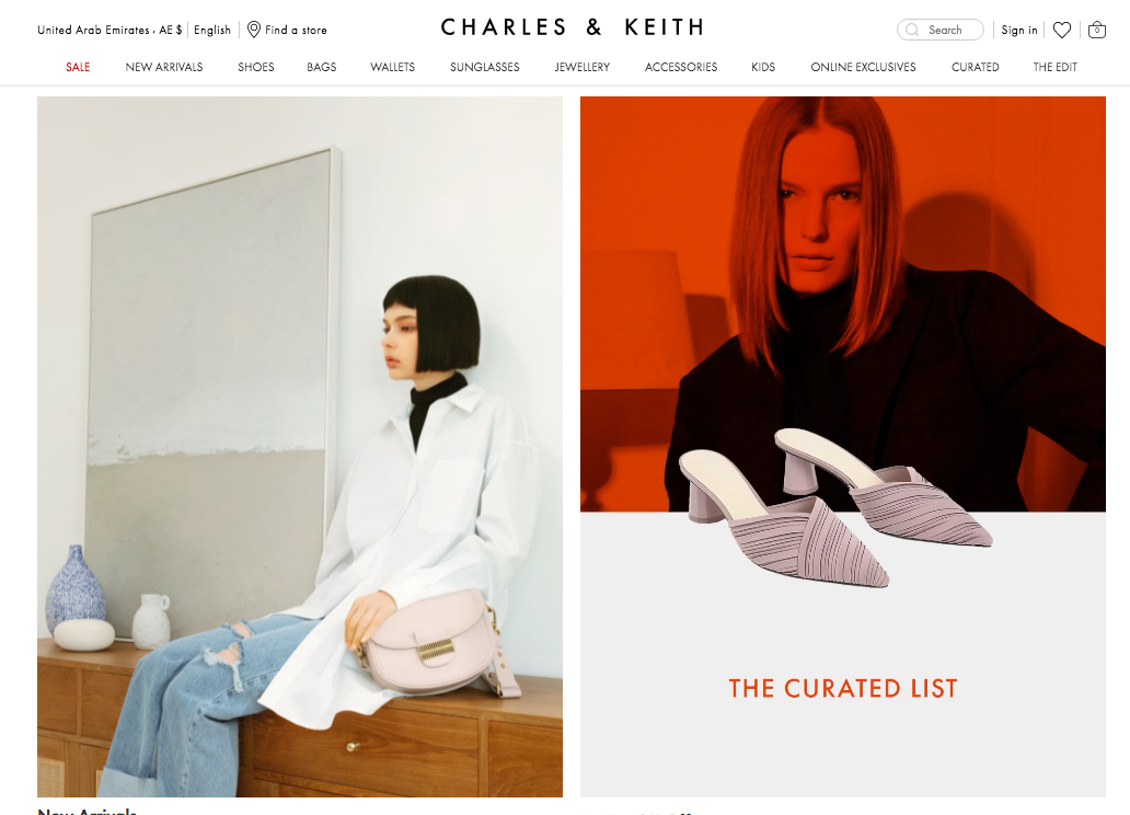 Charles & Keith AE About Us