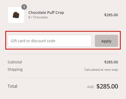 How do I use my Peony Swimwear discount code?