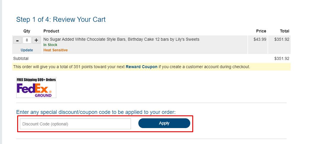 How do I use my Netrition.com discount code?