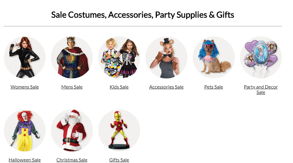 Costumebox Sales