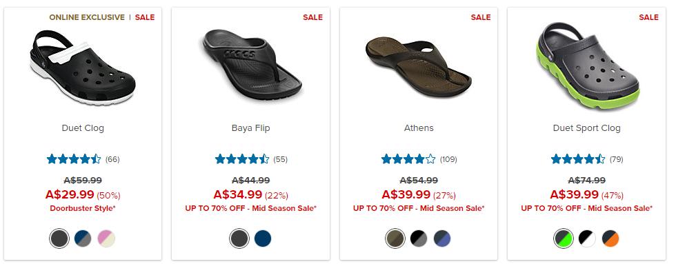 Crocs Sales