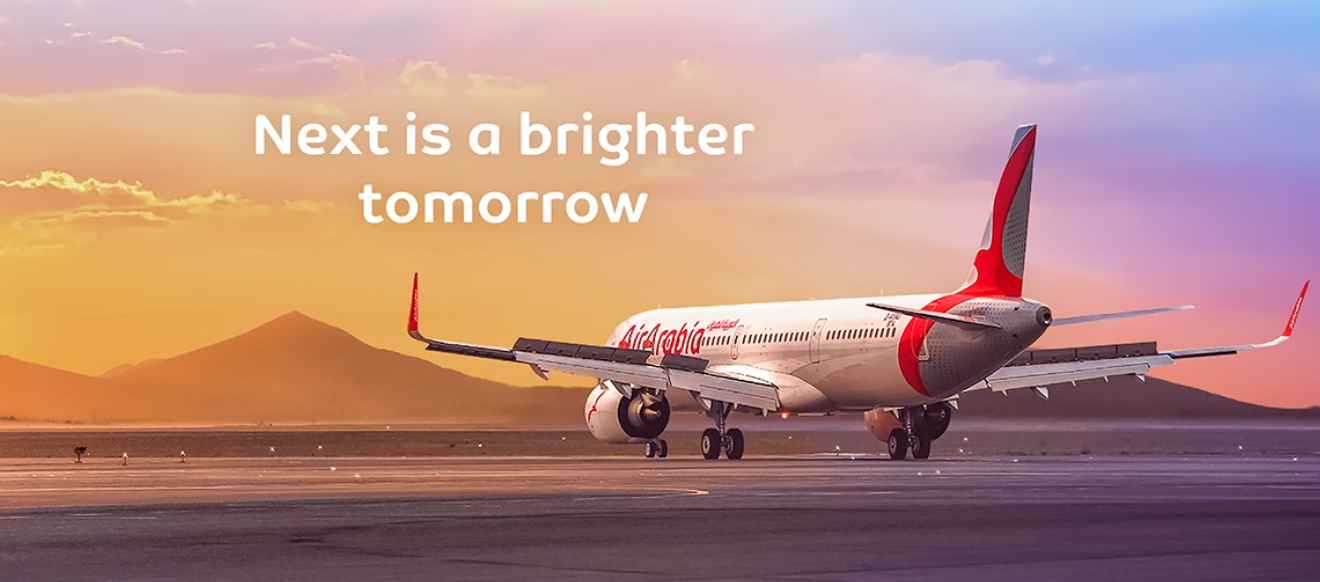 About Air Arabia Homepage