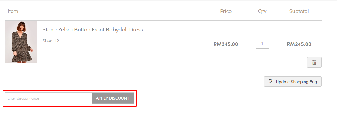 How do I use my Apricot discount code?