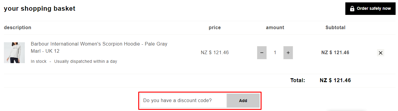 How do I use my The Hut discount code?