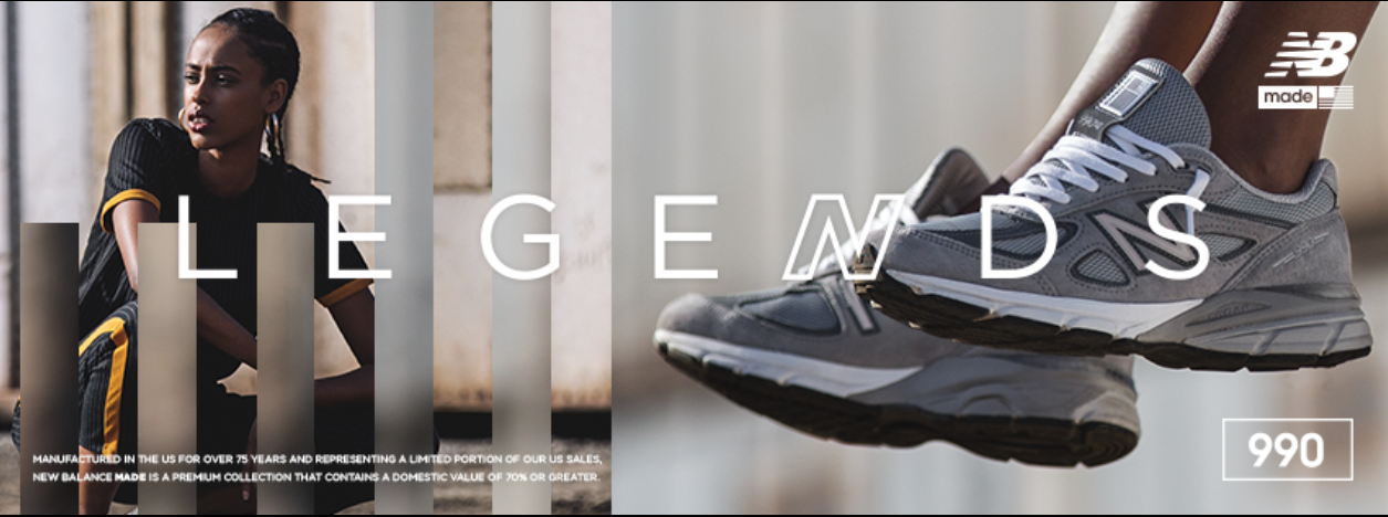About New Balance Homepage