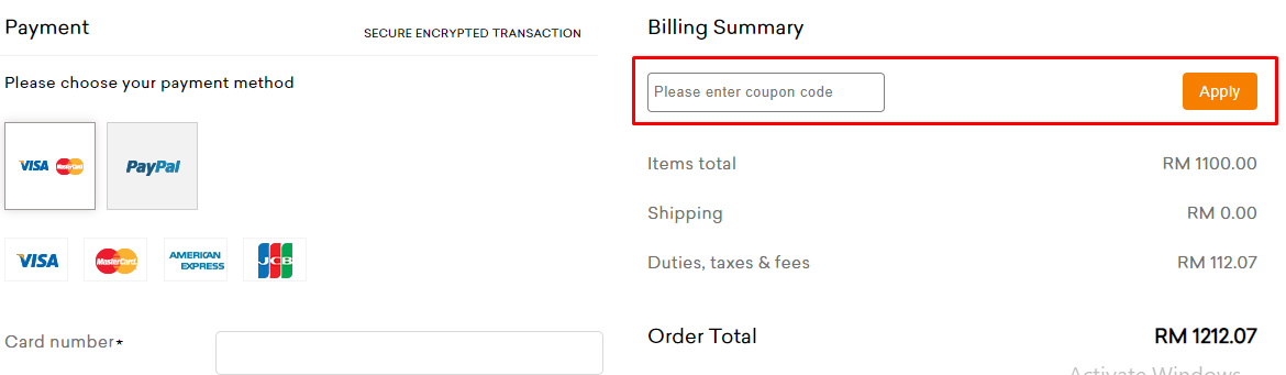 How do I use my ADAY coupon code?