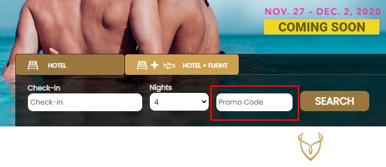 How do I use my Desire Resorts & Cruises promo code?