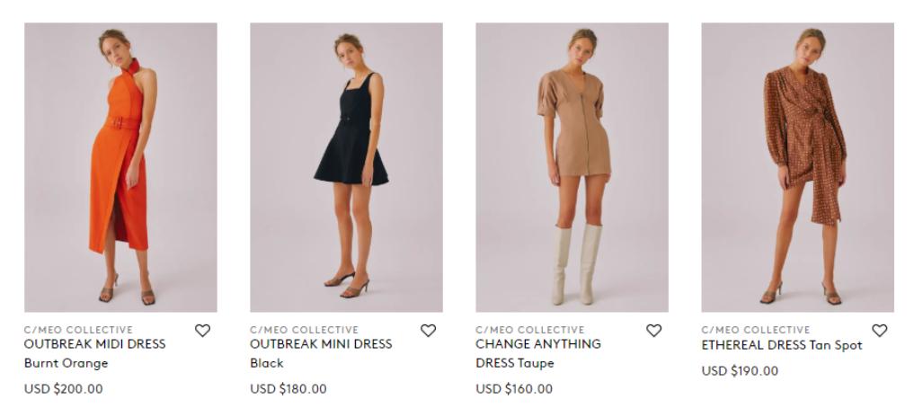 BNKR dresses