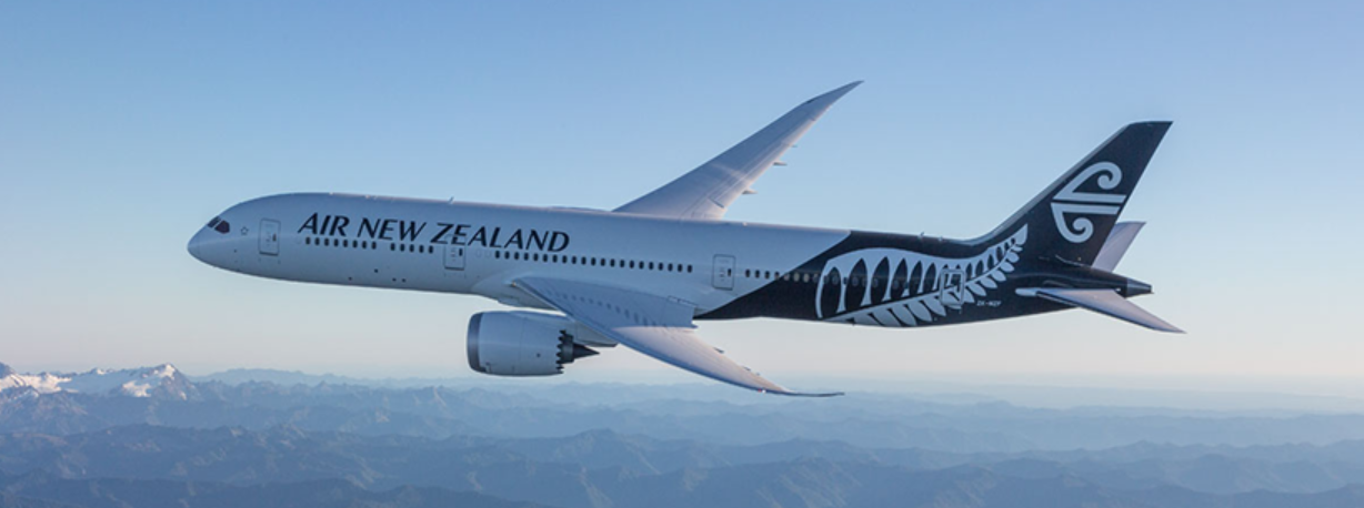About Air New Zealand Homepage