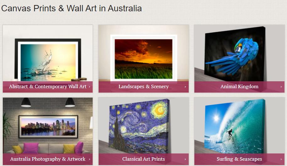 Canvas Prints & Wall Art in Australia