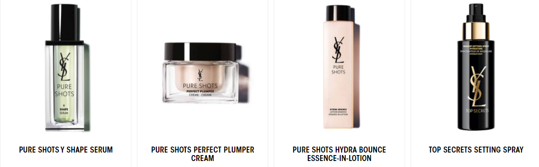 About YSL Beauty Homepage