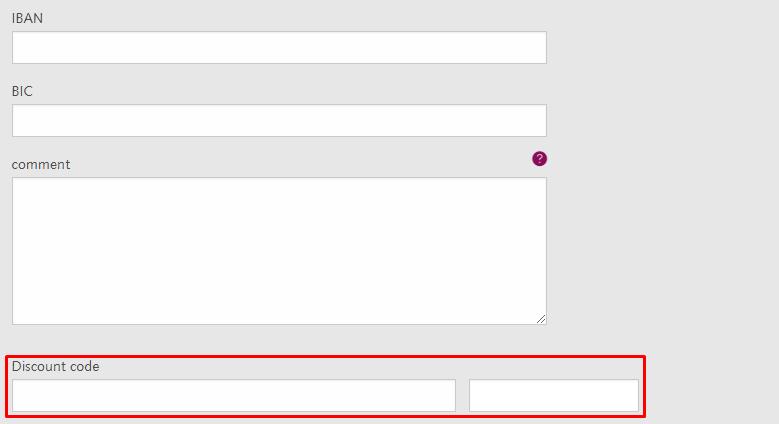 How do I use my APOLLON University discount code?